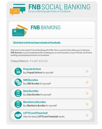 Tutuka review of FNB application