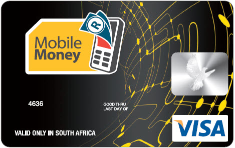 mtn mobile money - Visa Money Card